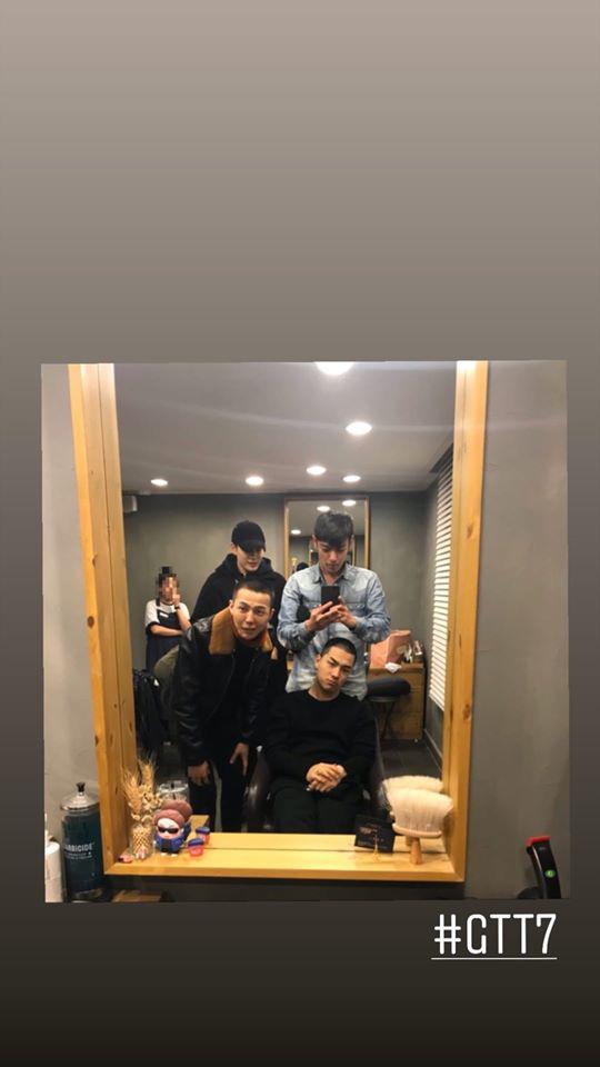 Xúc động cảnh BIGBANG đoàn tụ như gia đình: Taeyang gặp lại bà xã Min Hyo Rin, được G-Dragon và T.O.P đưa đi cắt tóc - Ảnh 4.