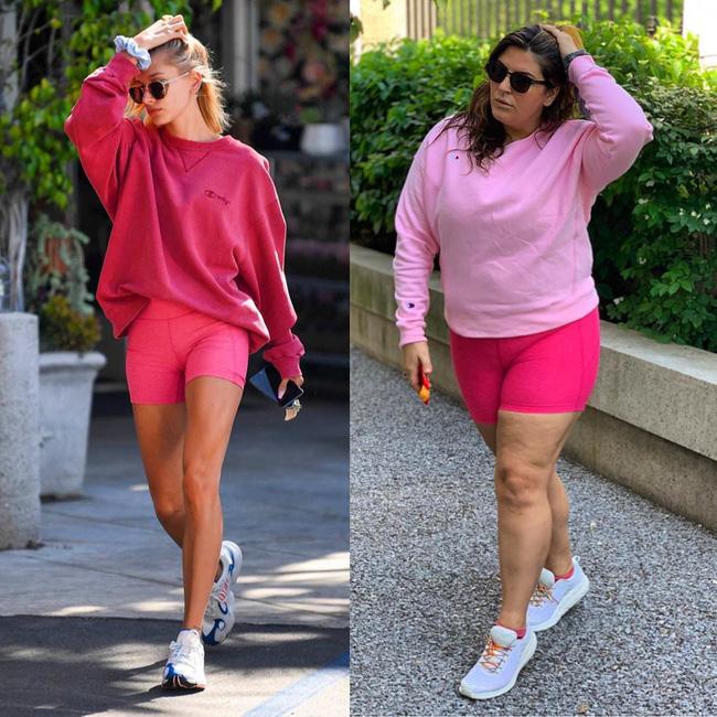 Nàng béo 80kg tự tin nhất thế giới: Cosplay cả dàn sao Hollywood nóng bỏng, chẳng ngán diện đồ bó sát dù lộ đầy nhược điểm - ảnh 11