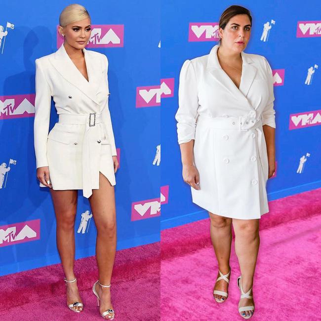 Nàng béo 80kg tự tin nhất thế giới: Cosplay cả dàn sao Hollywood nóng bỏng, chẳng ngán diện đồ bó sát dù lộ đầy nhược điểm - ảnh 6