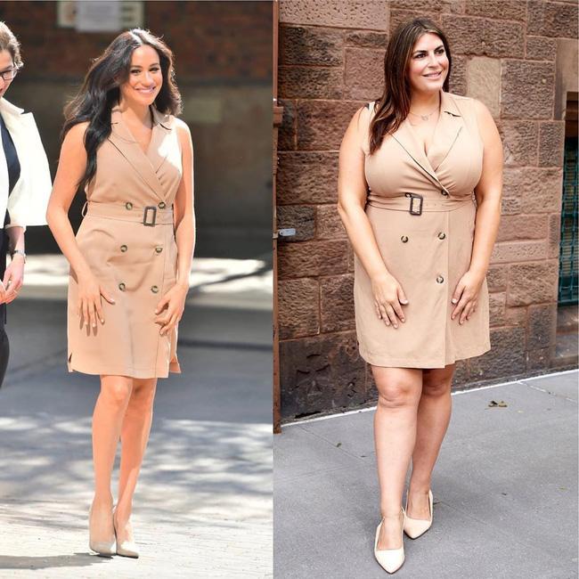 Nàng béo 80kg tự tin nhất thế giới: Cosplay cả dàn sao Hollywood nóng bỏng, chẳng ngán diện đồ bó sát dù lộ đầy nhược điểm - ảnh 7