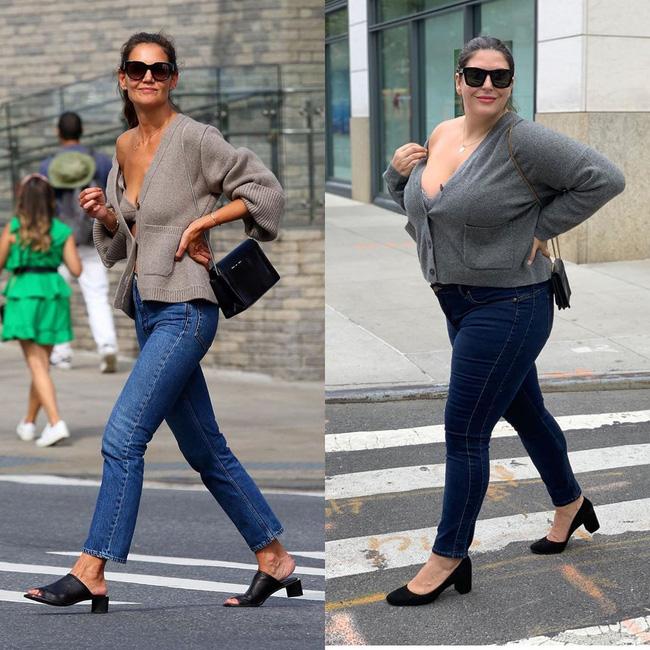 Nàng béo 80kg tự tin nhất thế giới: Cosplay cả dàn sao Hollywood nóng bỏng, chẳng ngán diện đồ bó sát dù lộ đầy nhược điểm - ảnh 9