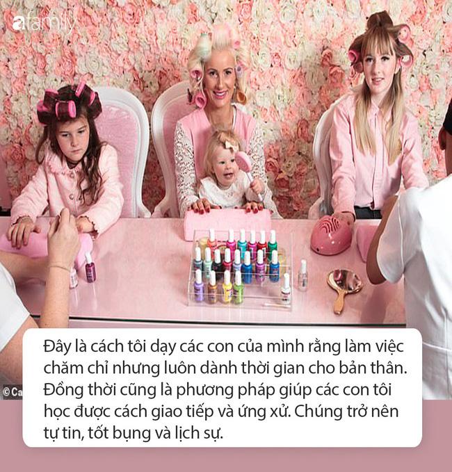 Bà mẹ chi 30 triệu đồng/ tháng cho thẩm mỹ viện để dạy con gái một bài học: Làm việc chăm chỉ nhưng luôn dành thời gian cho bản thân - ảnh 9