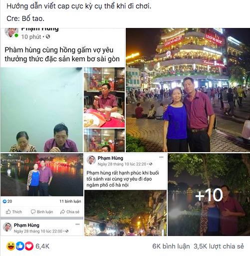 """Đòi con gái lập Facebook cho bằng được, bố mẹ """"xì tin"""" đăng caption chẳng giống ai vô tình làm nên hot trend trên MXH - Ảnh 1."""