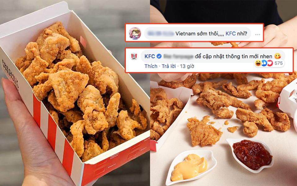 Món da gà tẩm bột chiên mở bán ở KFC Singapore khiến dân tình sôi sục, bao giờ mới đến Việt Nam đây?