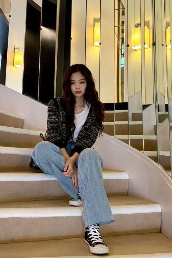 Áo khoác vải tweed: Các nàng sang chảnh nhất showbiz Việt - Hàn đều đang chết mê chết mệt, còn bạn thì sao? - ảnh 17