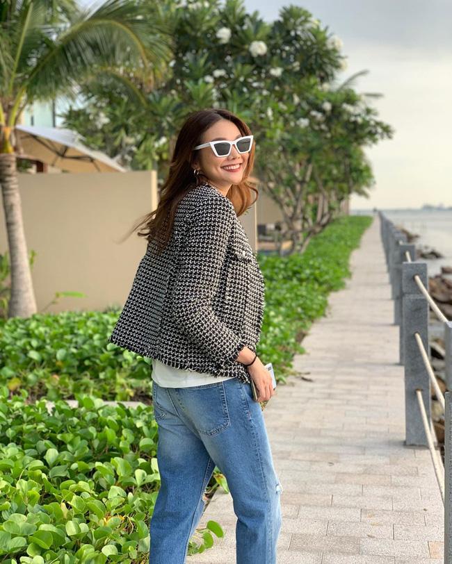 Áo khoác vải tweed: Các nàng sang chảnh nhất showbiz Việt - Hàn đều đang chết mê chết mệt, còn bạn thì sao? - ảnh 19