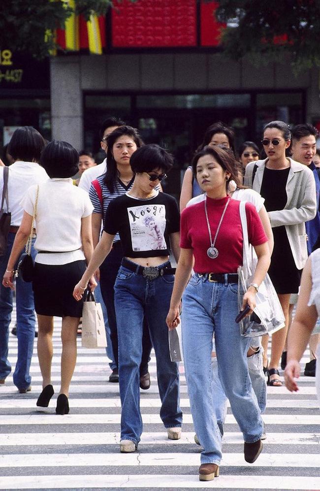 Nam thanh nữ tú xứ Hàn những năm 90: Lên đồ chặt chém, bắt trend nhanh khiến thế hệ bây giờ cũng phải ngả mũ - ảnh 3