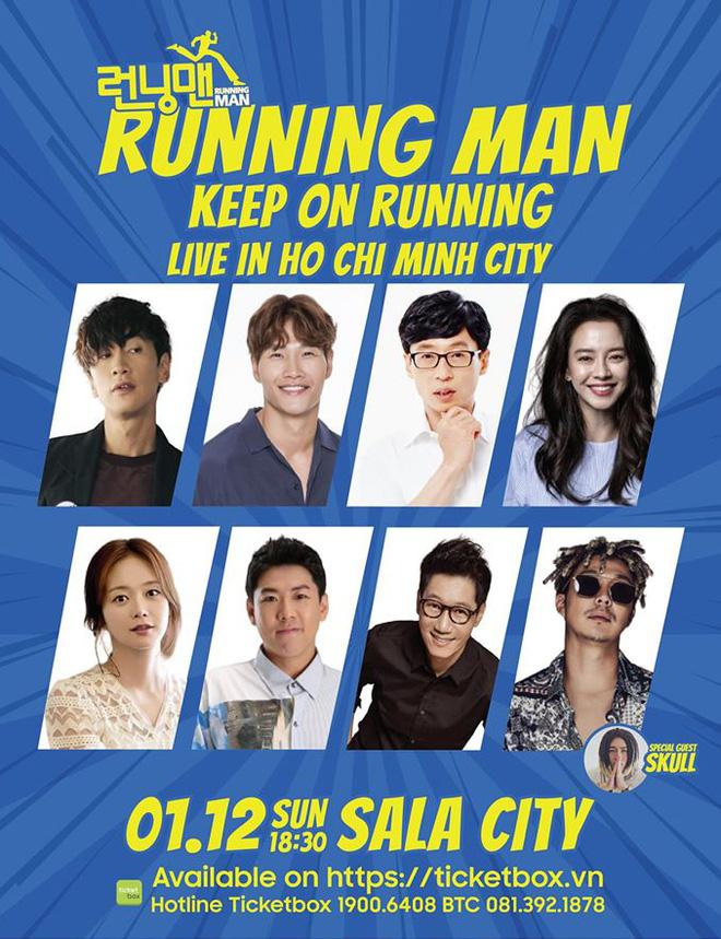 Dàn sao Running Man gửi lời chào đến fan Việt trước khi sang tổ chức fan meeting - ảnh 3