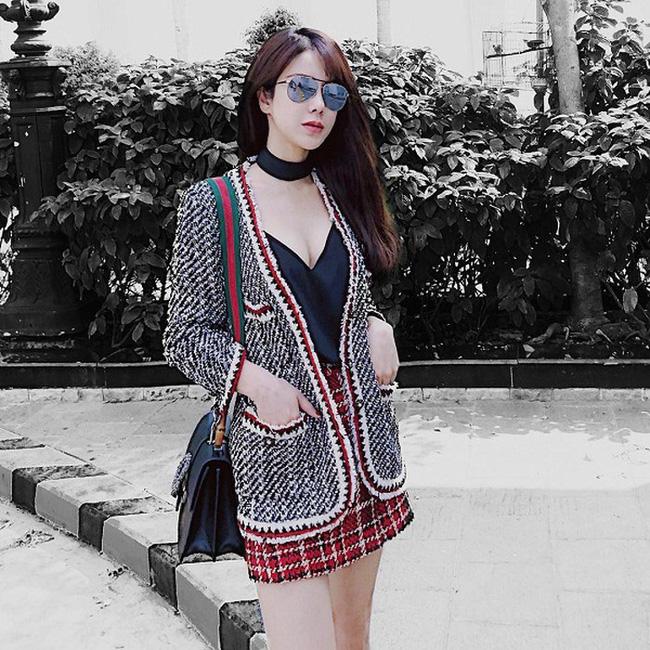 Áo khoác vải tweed: Các nàng sang chảnh nhất showbiz Việt - Hàn đều đang chết mê chết mệt, còn bạn thì sao? - ảnh 23