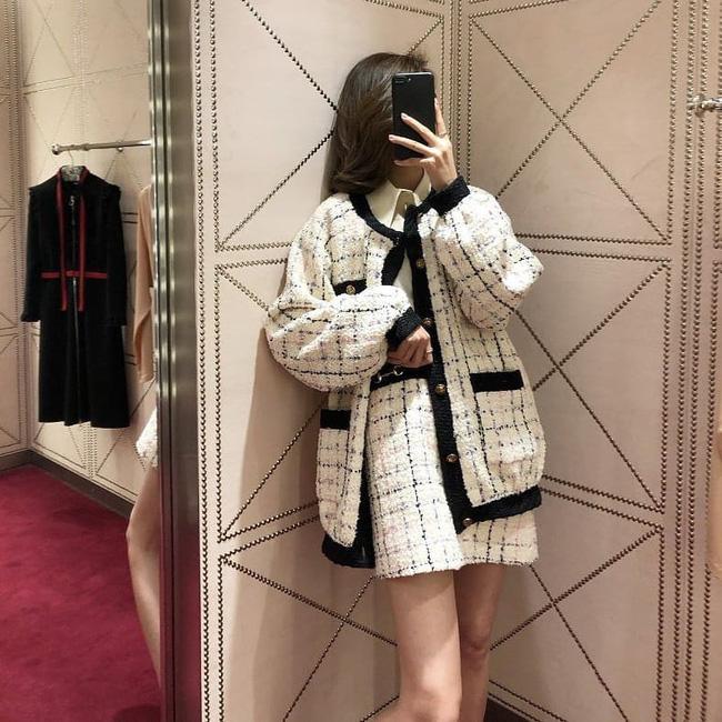 Áo khoác vải tweed: Các nàng sang chảnh nhất showbiz Việt - Hàn đều đang chết mê chết mệt, còn bạn thì sao? - ảnh 26