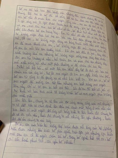 Không ngại kể xấu bố, nữ sinh lớp 7 gây bão với bức tâm thư gửi bố đạt 9,5 điểm kèm lời nhắn đặc biệt đến từ cô giáo - ảnh 2