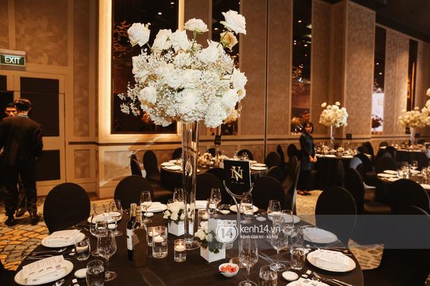 Không chỉ Bảo Thy, đám cưới Giang Hồng Ngọc cũng gây ấn tượng với thực đơn năm châu hội tụ - Ảnh 5.