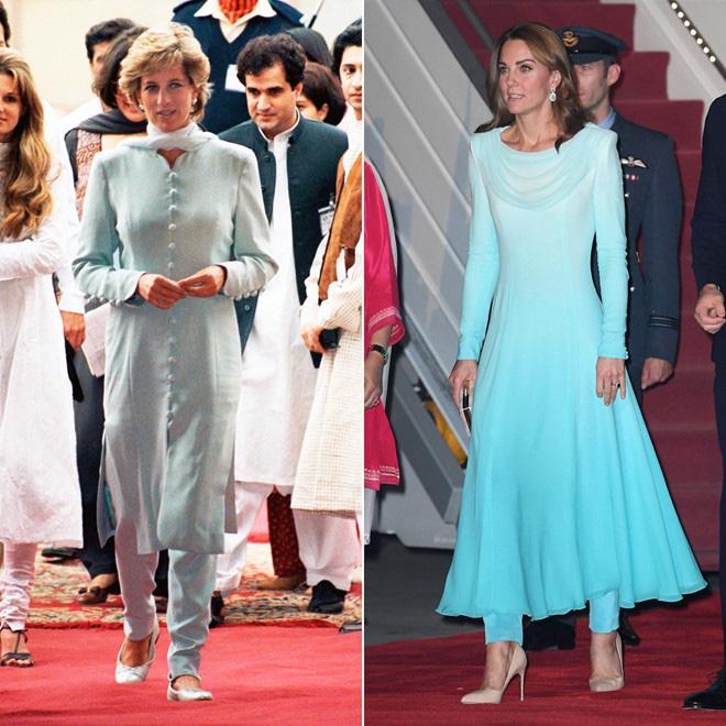 Diện đồ tím chuẩn trend, Công nương Kate lại khiến dân tình nhớ đến hình ảnh của mẹ chồng Diana - ảnh 6