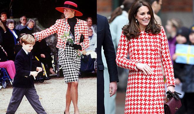 Diện đồ tím chuẩn trend, Công nương Kate lại khiến dân tình nhớ đến hình ảnh của mẹ chồng Diana - ảnh 7