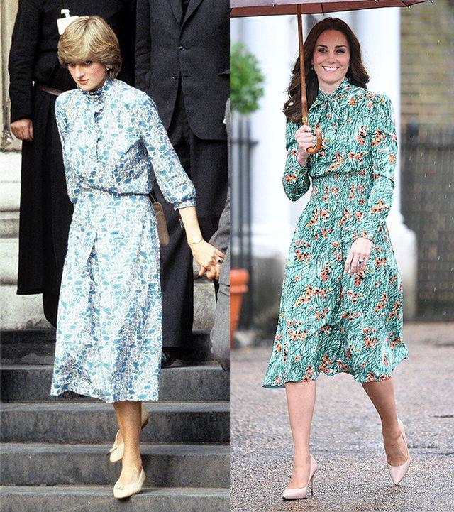 Diện đồ tím chuẩn trend, Công nương Kate lại khiến dân tình nhớ đến hình ảnh của mẹ chồng Diana - ảnh 9