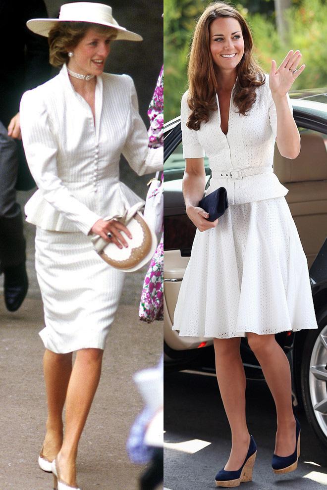 Diện đồ tím chuẩn trend, Công nương Kate lại khiến dân tình nhớ đến hình ảnh của mẹ chồng Diana - ảnh 10