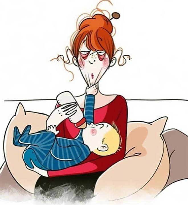 Tờ giấy quy định khi đến nhà của gia đình có 3 trẻ nhỏ làm bùng nổ tranh cãi: Không khen chê, không tổn thương bé?! - Ảnh 2.