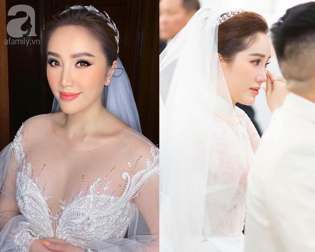 Đến đám cưới Bảo Thy là có thể khẳng định: Hầu hết các cô dâu showbiz Việt đều đu theo xu hướng trang điểm tông cam - ảnh 1