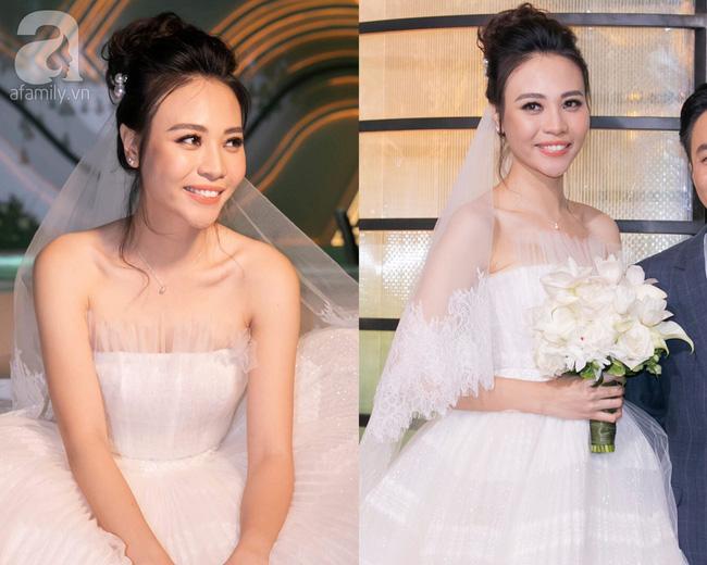 Đến đám cưới Bảo Thy là có thể khẳng định: Hầu hết các cô dâu showbiz Việt đều đu theo xu hướng trang điểm tông cam - ảnh 3