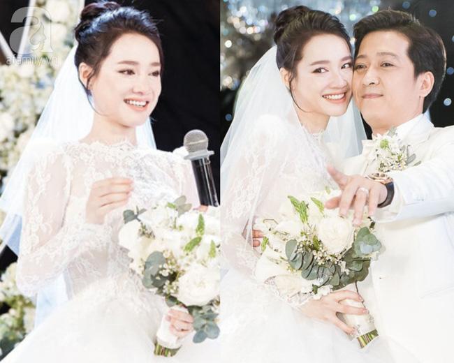 Đến đám cưới Bảo Thy là có thể khẳng định: Hầu hết các cô dâu showbiz Việt đều đu theo xu hướng trang điểm tông cam - ảnh 4