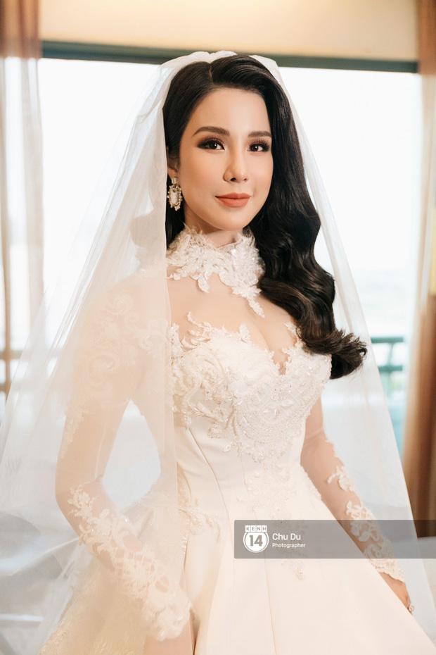 Đến đám cưới Bảo Thy là có thể khẳng định: Hầu hết các cô dâu showbiz Việt đều đu theo xu hướng trang điểm tông cam - ảnh 8