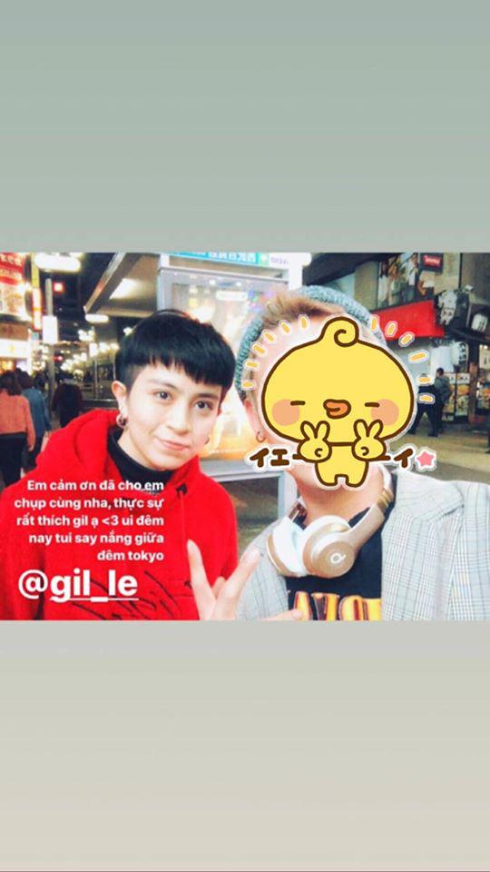 Gil Lê và Hoàng Thùy Linh bị bắt gặp cùng đi du lịch Nhật Bản, còn tag nhau vào ảnh giữa nghi vấn hẹn hò - ảnh 1
