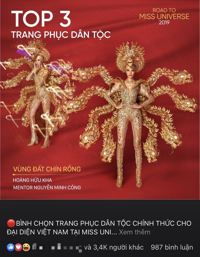 Netizen ủng hộ Hoàng Thùy mang trang phục Cò sải cánh tại Miss Universe 2019 - ảnh 6