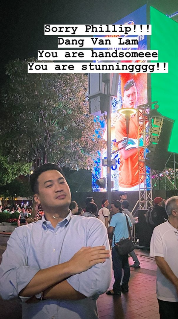 Đến Linh Rin cũng xỉu lên xỉu xuống vì pha cản phá penalty xuất thần của Đặng Văn Lâm mà ngó lơ luôn Phillip Nguyễn - ảnh 2