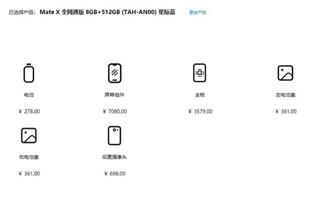 Góc xót ví: Giá thay màn hình Huawei Mate X đắt bằng tiền mua iPhone 11 Pro mới tinh - ảnh 2