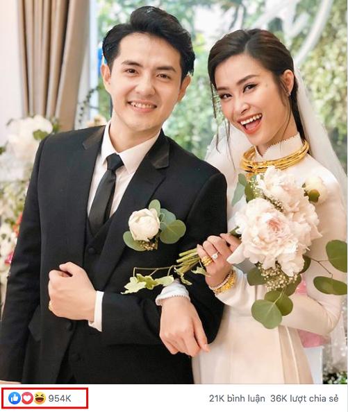 Siêu đám cưới biến Đông Nhi - Ông Cao Thắng thành vợ chồng hot nhất Vbiz: Nhìn con số mới thấy độ ảnh hưởng quá khủng! - ảnh 1