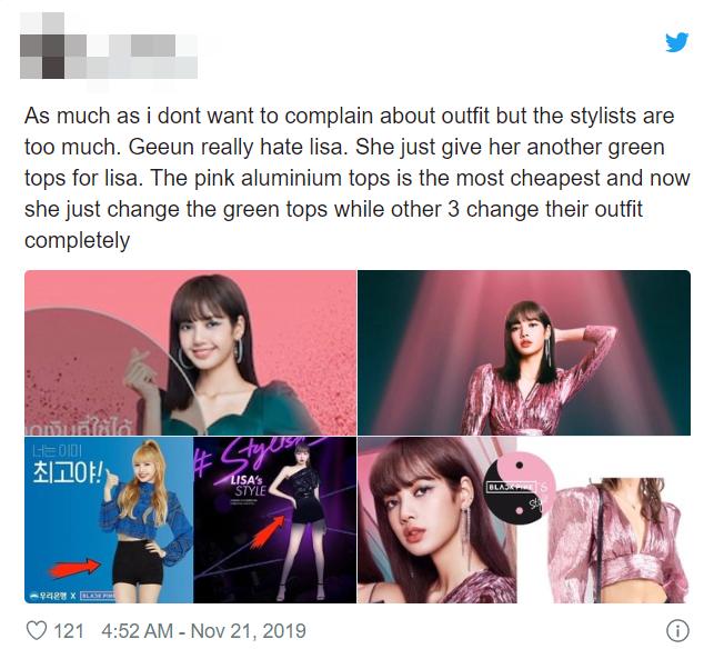 Thấy Lisa mặc đi mặc lại 1 chiếc quần trong suốt 3 năm, fan BLACKPINK phẫn nộ tố YG vô tâm, hời hợt - ảnh 10