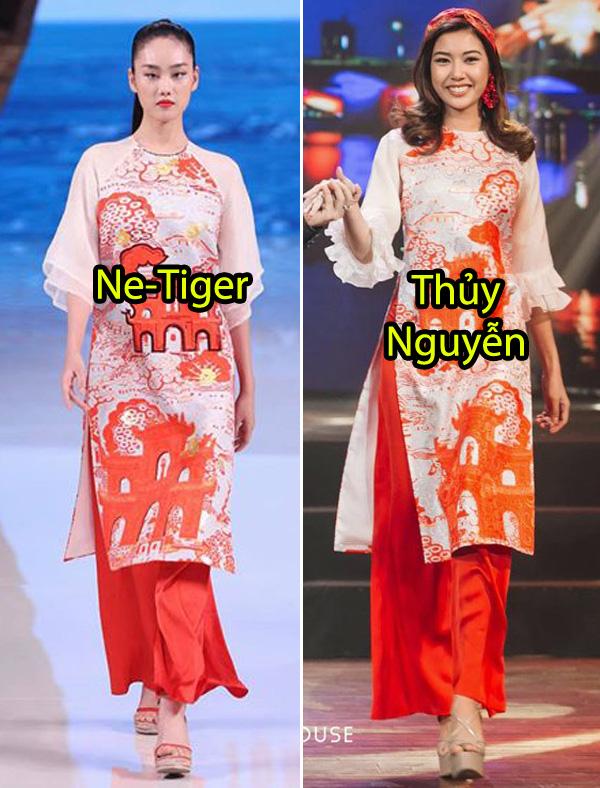 Giữa lùm xùm mẫu áo dài bị copy, NTK Thủy Nguyễn khẳng định: Sản phẩm kia giống thiết kế gốc của tôi đến hơn 90% - ảnh 9