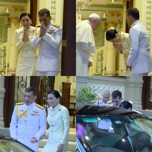 Hoàng hậu Thái Lan xuất hiện rạng rỡ, cười không ngớt bên cạnh Quốc vương Thái Lan sau sóng gió hậu cung trong sự kiện mới nhất - ảnh 4