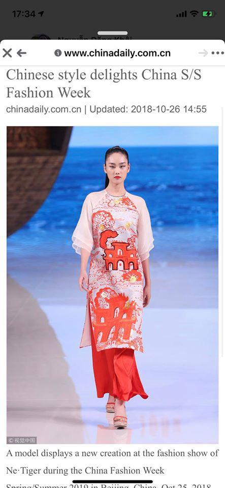 Giữa lùm xùm mẫu áo dài bị copy, NTK Thủy Nguyễn khẳng định: Sản phẩm kia giống thiết kế gốc của tôi đến hơn 90% - ảnh 2