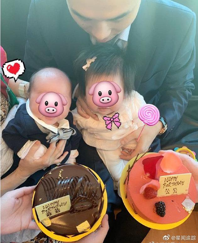 Mừng thọ trùm sòng bạc Macau, bà Tư thắng lớn với hình ảnh đứa cháu đích tôn đời thứ 5 bụ bẫm dâng bánh tặng ông nội - Ảnh 1.
