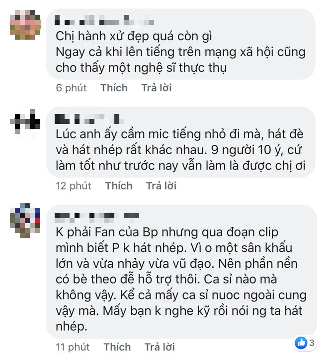 Bảo Thy, Soobin Hoàng Sơn cùng loạt sao Việt và khán giả gửi lời động viên, chia sẻ, đứng về phía Bích Phương sau loạt ồn ào từ trên trời rơi xuống - Ảnh 7.