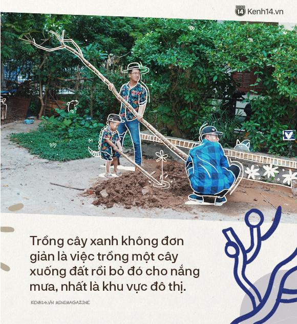 """Dưới vòm cây trong lành những giấc mơ của Xanh Hà Nội: Trồng một rặng cây không khó, """"vun đắp"""" ý thức cộng đồng mới gian nan - Ảnh 4."""