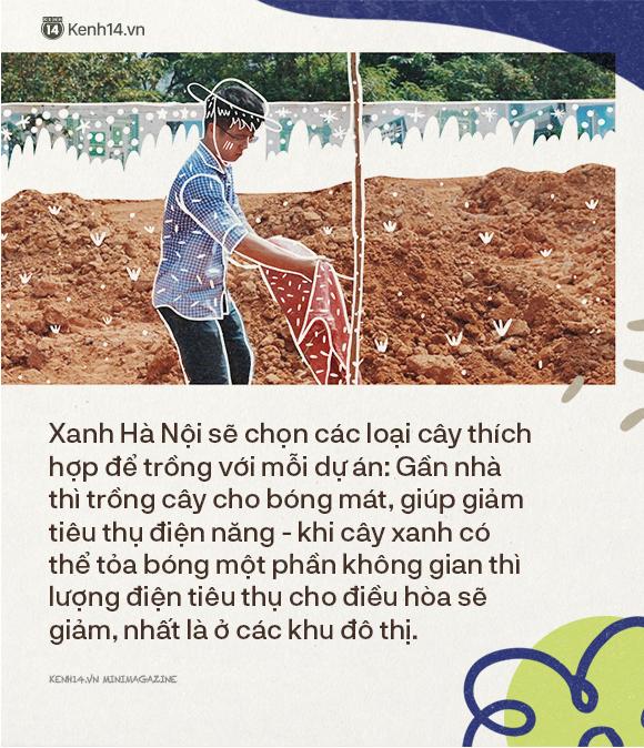 """Dưới vòm cây trong lành những giấc mơ của Xanh Hà Nội: Trồng một rặng cây không khó, """"vun đắp"""" ý thức cộng đồng mới gian nan - Ảnh 6."""