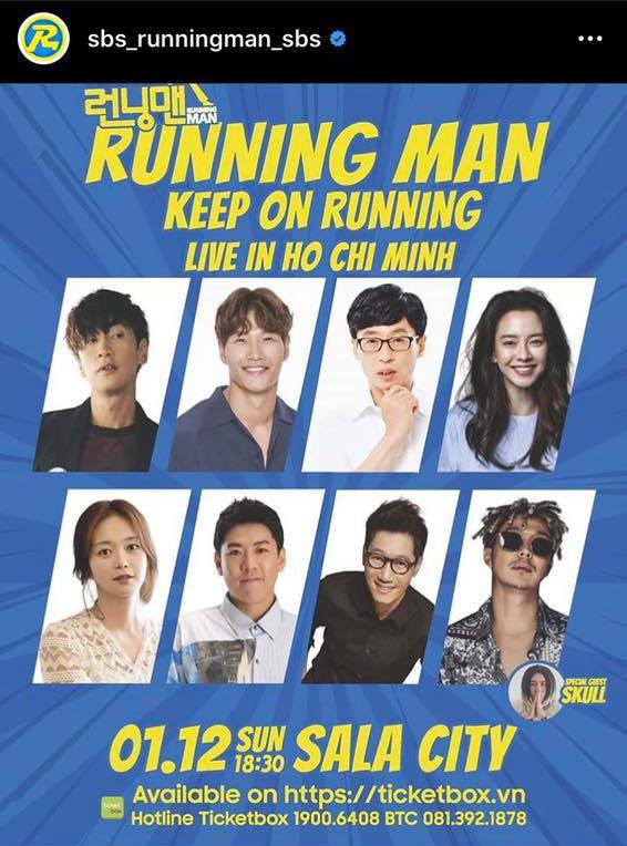 Running Man Hàn Quốc chính thức xác nhận về Fan Meeting tại Việt Nam, giá vé mềm hơn Indonesia - ảnh 2