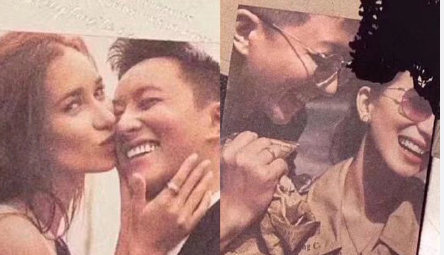Lộ thiệp cưới của Hangeng và mỹ nhân Chiến Lang 2, mỹ nam ngày ấy bao người theo đuổi chuẩn bị rước nàng về dinh - ảnh 2