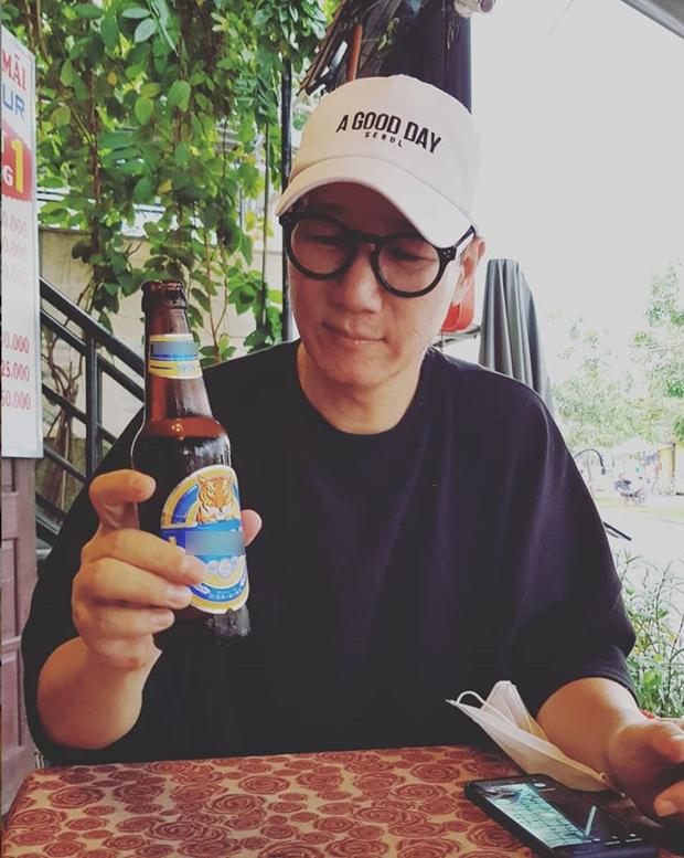 Còn chưa đến fan meeting Running Man ở Việt Nam, anh cả Ji Suk Jin đã khoe ảnh khảo sát món Việt ở Hội An rồi - Ảnh 3.