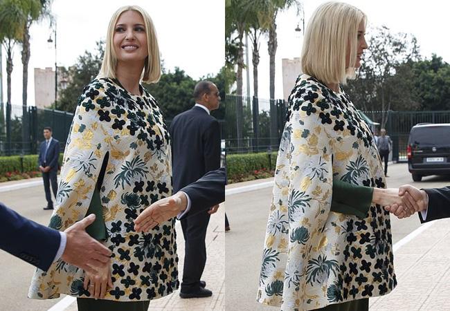 Dự tiệc tại cung điện hoàng gia, Ivanka Trump bị chê xuống sắc với vẻ ngoài kỳ lạ, nghi vấn mang thai lần 4 - ảnh 7