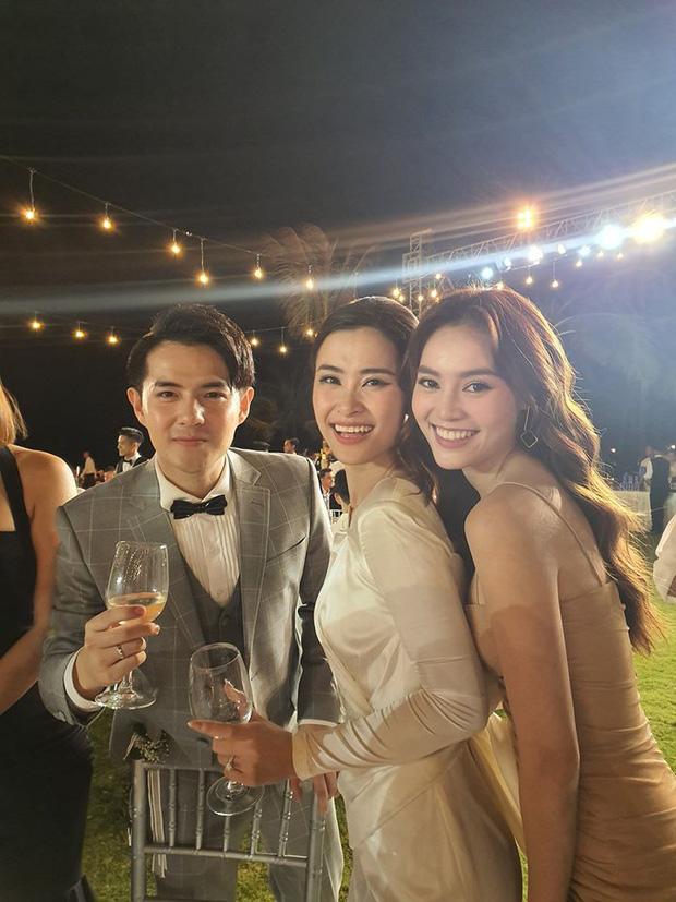 Dàn khách mời nữ trong đám cưới Đông Nhi cũng lên đồ xuất sắc quá trời: Đẹp mỹ mãn mà chẳng hề lấn át cô dâu - ảnh 6