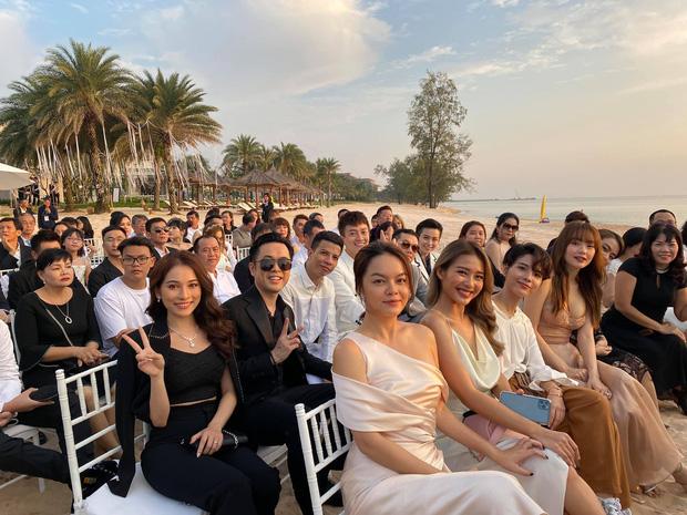 Hội chị em đọ sắc ngợp trời cùng khung hình tại đám cưới Đông Nhi - Ông Cao Thắng, Vũ Cát Tường gây bất ngờ nhất - ảnh 1