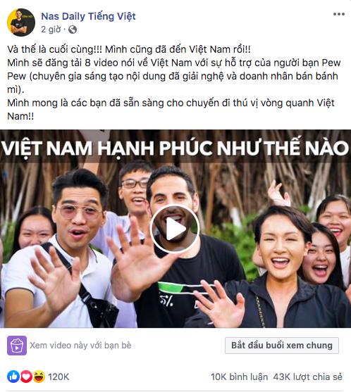 Ơn giời, cuối cùng Nas Daily cũng ra video đầu tiên tại Việt Nam, PewPew và Giang Ơi là khách mời đặc biệt - Ảnh 3.