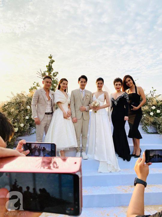 Dàn khách mời nữ trong đám cưới Đông Nhi cũng lên đồ xuất sắc quá trời: Đẹp mỹ mãn mà chẳng hề lấn át cô dâu - ảnh 8