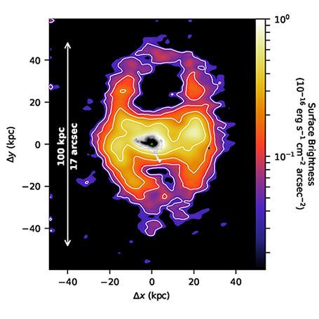 Lần đầu tiên khoa học chứng kiến gió thiên hà trải dài tới cả ngàn năm ánh sáng. Khoảng vài năm nữa thôi, Dải Ngân hà cũng chứng kiến cảnh tương tự! - ảnh 2