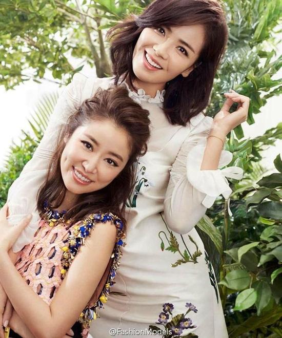 Màn đọ nhan sắc bất phân thắng bại giữa Lưu Đào và Lâm Tâm Như, cặp đôi tình bạn từ trong phim đến ngoài đời - ảnh 4