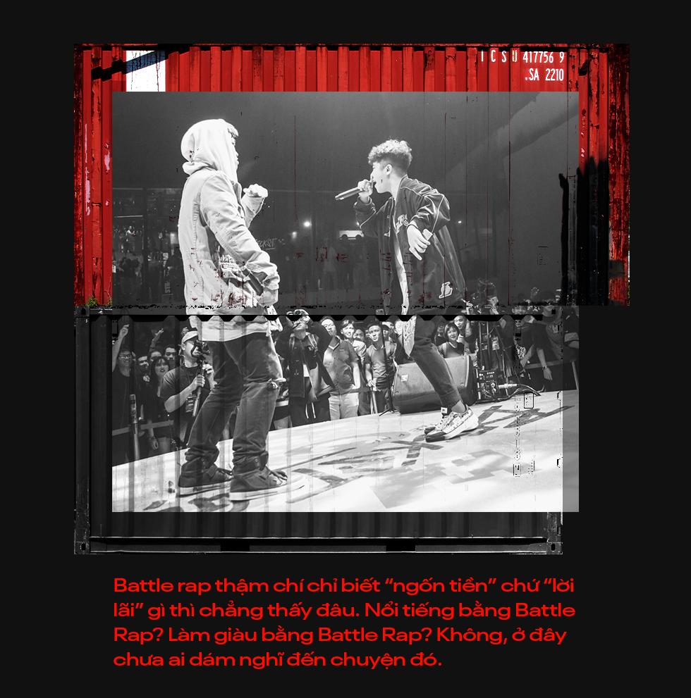 """Beck'Stage Battle Rap: Giải đấu khủng nhất của rap Việt Nam và lời khẳng định """"We are Striver"""" - Ảnh 3."""