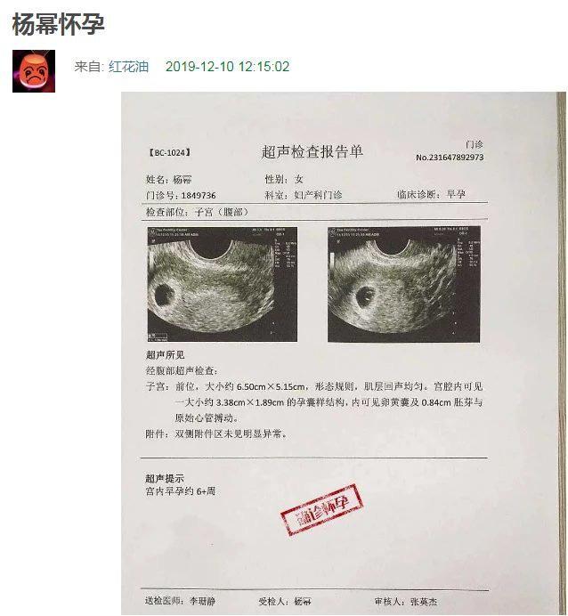 Vừa mới bị tóm sống cùng vào khách sạn, Dương Mịch đã bị nghi lộ tờ giấy khám mang thai với tình trẻ - Ảnh 2.